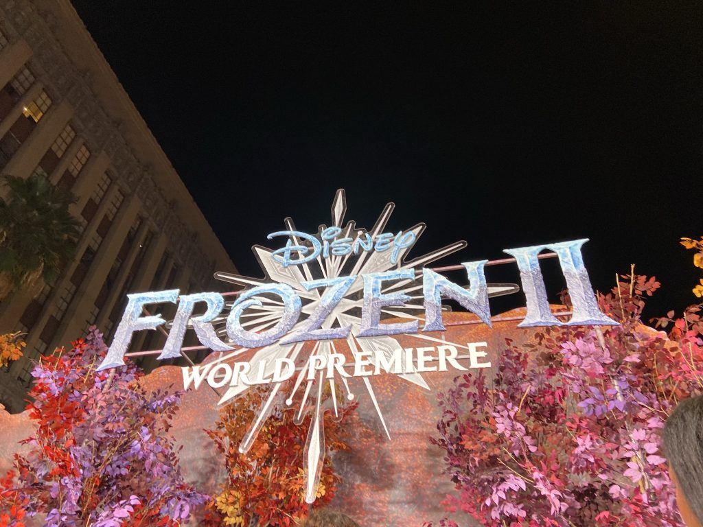 Frozen 2 red carpet world premiere at the dolby theater