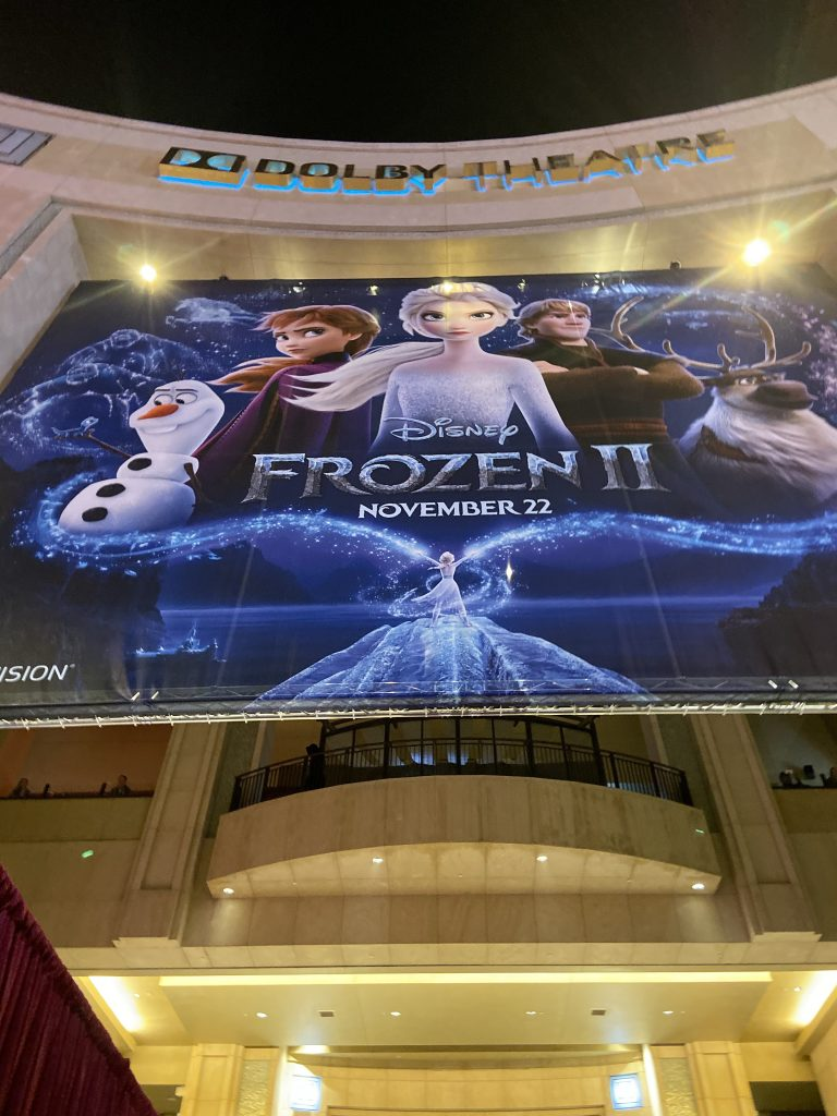 dolby theater frozen 2