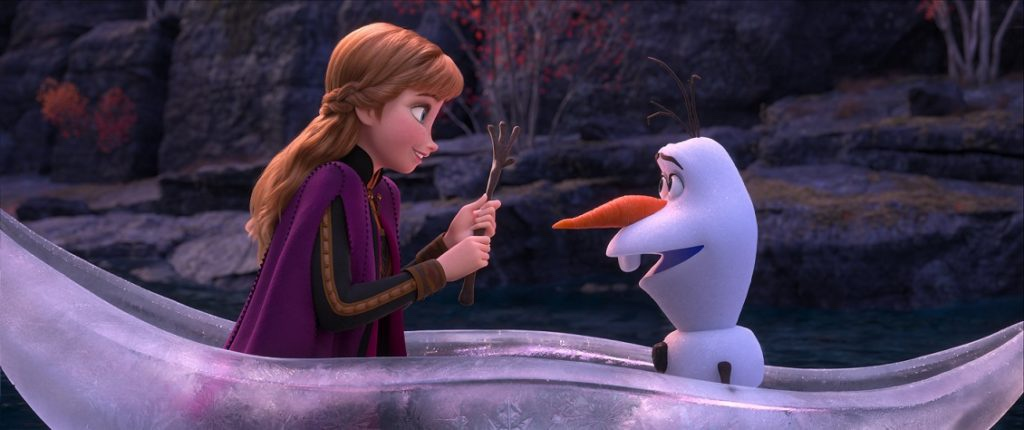 Anna and Olaf best frozen 2 quotes