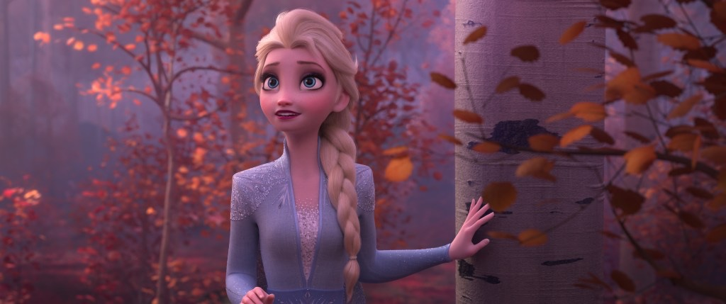Elsa in the Enchanted Forest