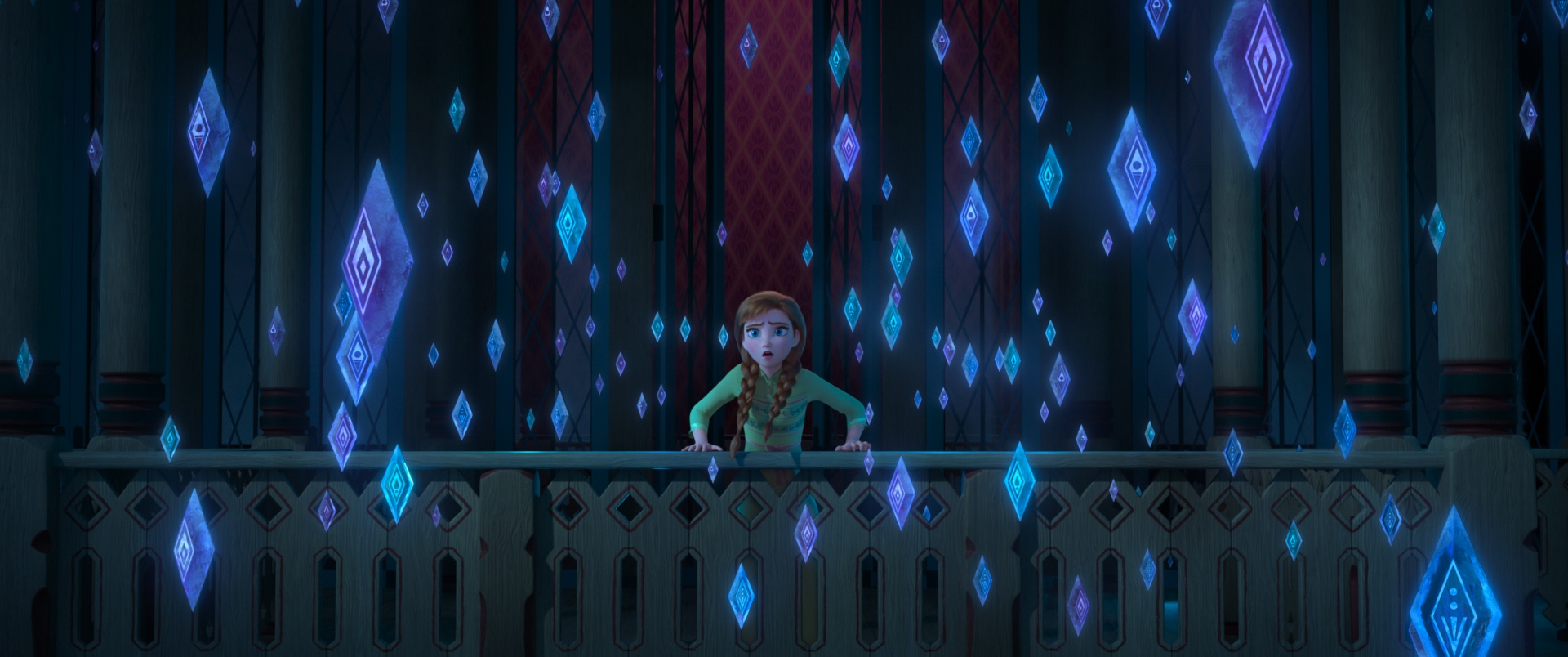 Anna is Queen in Frozen 2