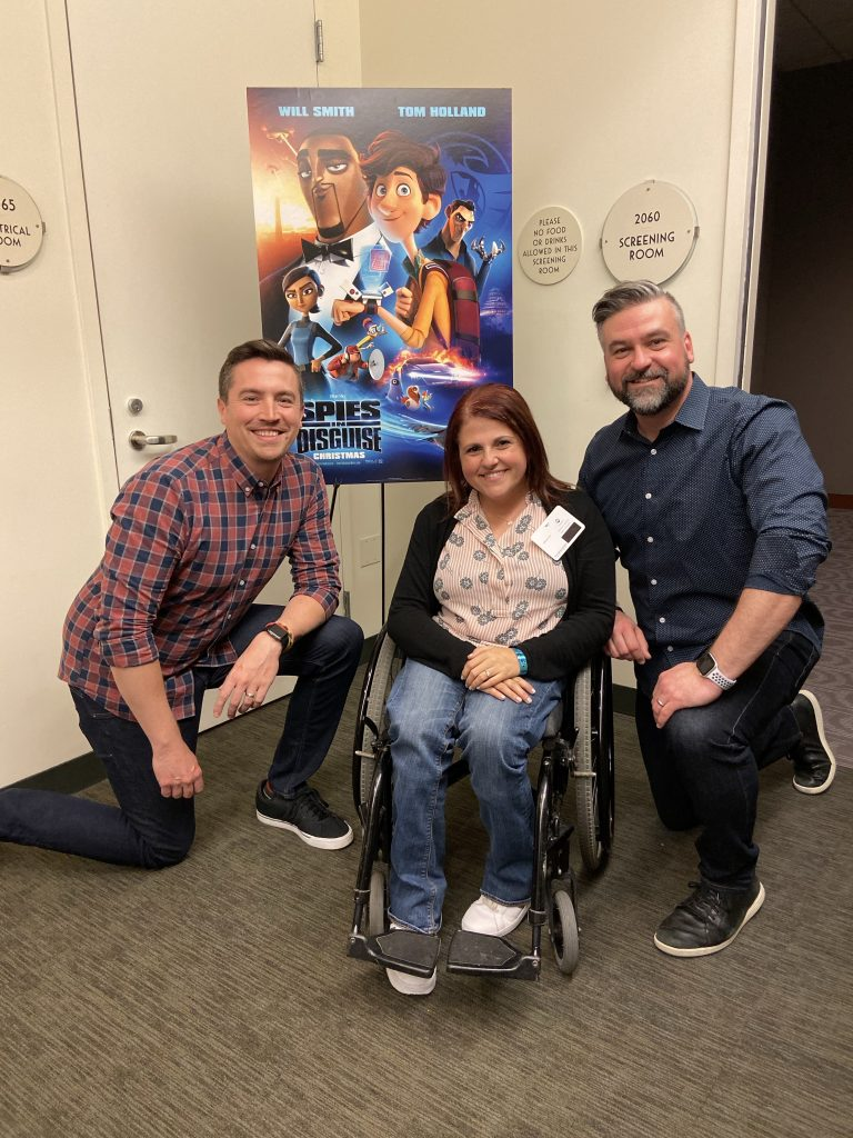 Troy Quane and Nick Bruno Directors of Spies in Disguise