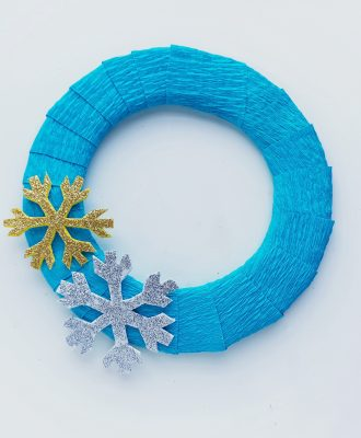 Frozen inspired craft