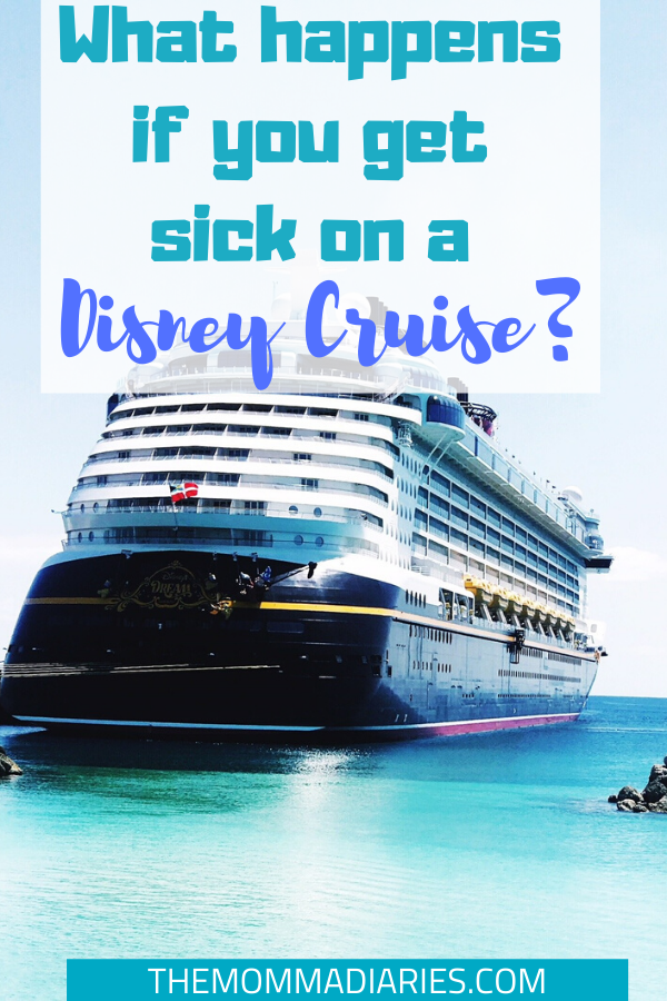 What Happens if You Get Sick on a Disney Cruise? #DisneyCruise #DisneyCruiseLine #DisneyTips #DisneyCruiseTips #DisneyCreators