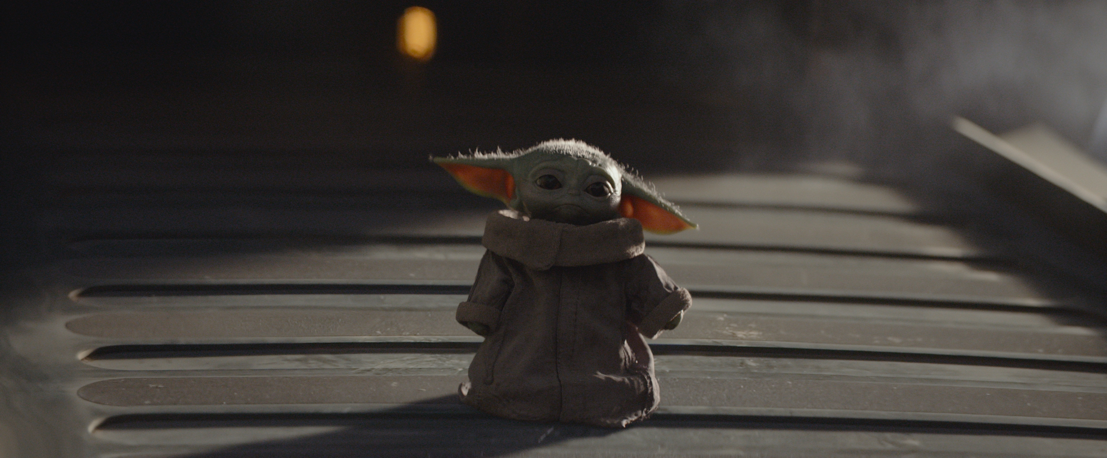 Baby Yoda The Child from The Mandalorian on Disney Plus