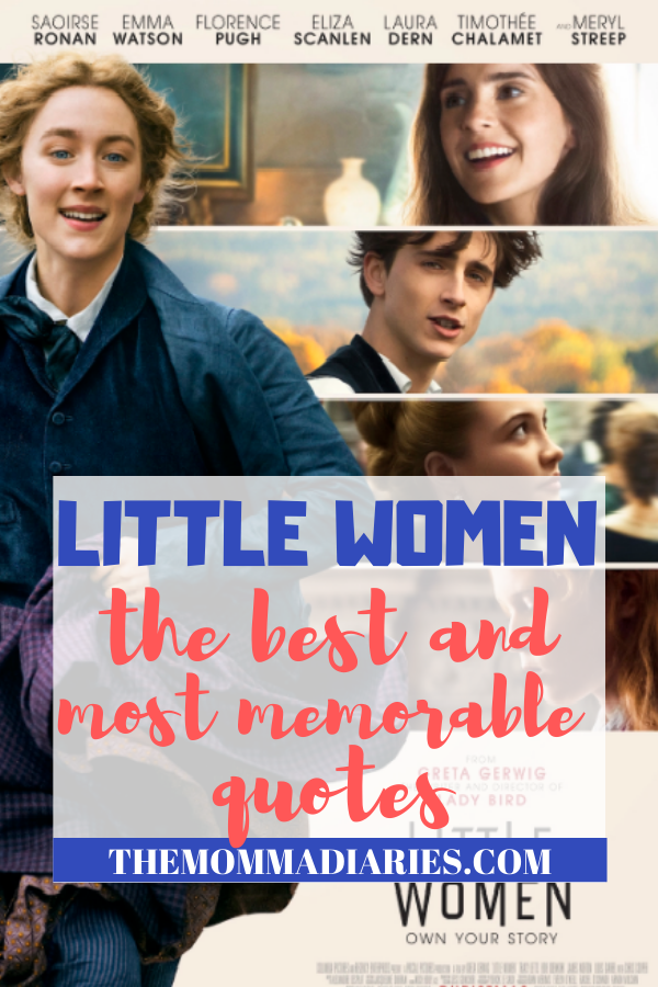 Best Little Women quotes, Little Women Movie Review #LittleWomenMovie