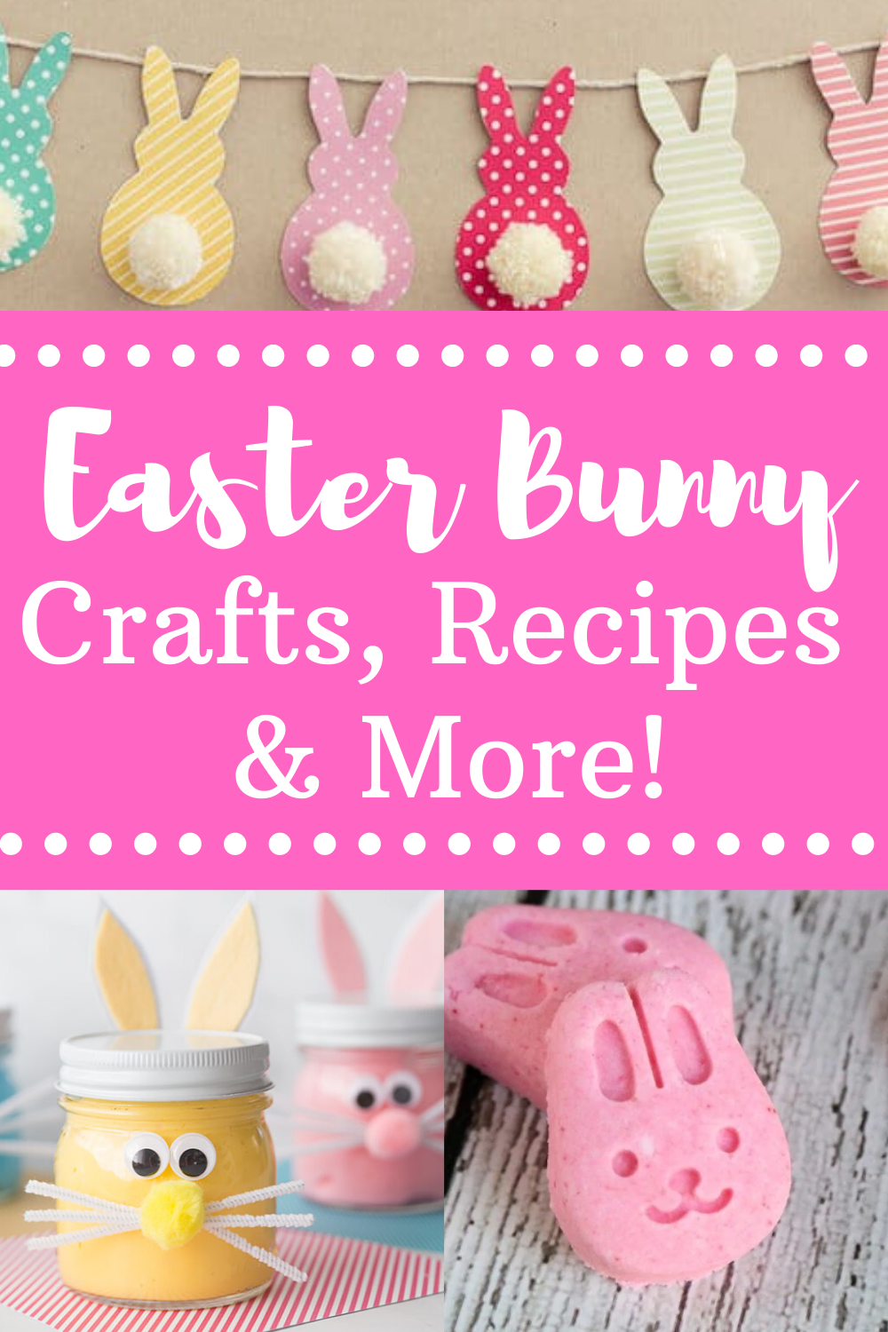 Easter Bunny Crafts Recipes Decor
