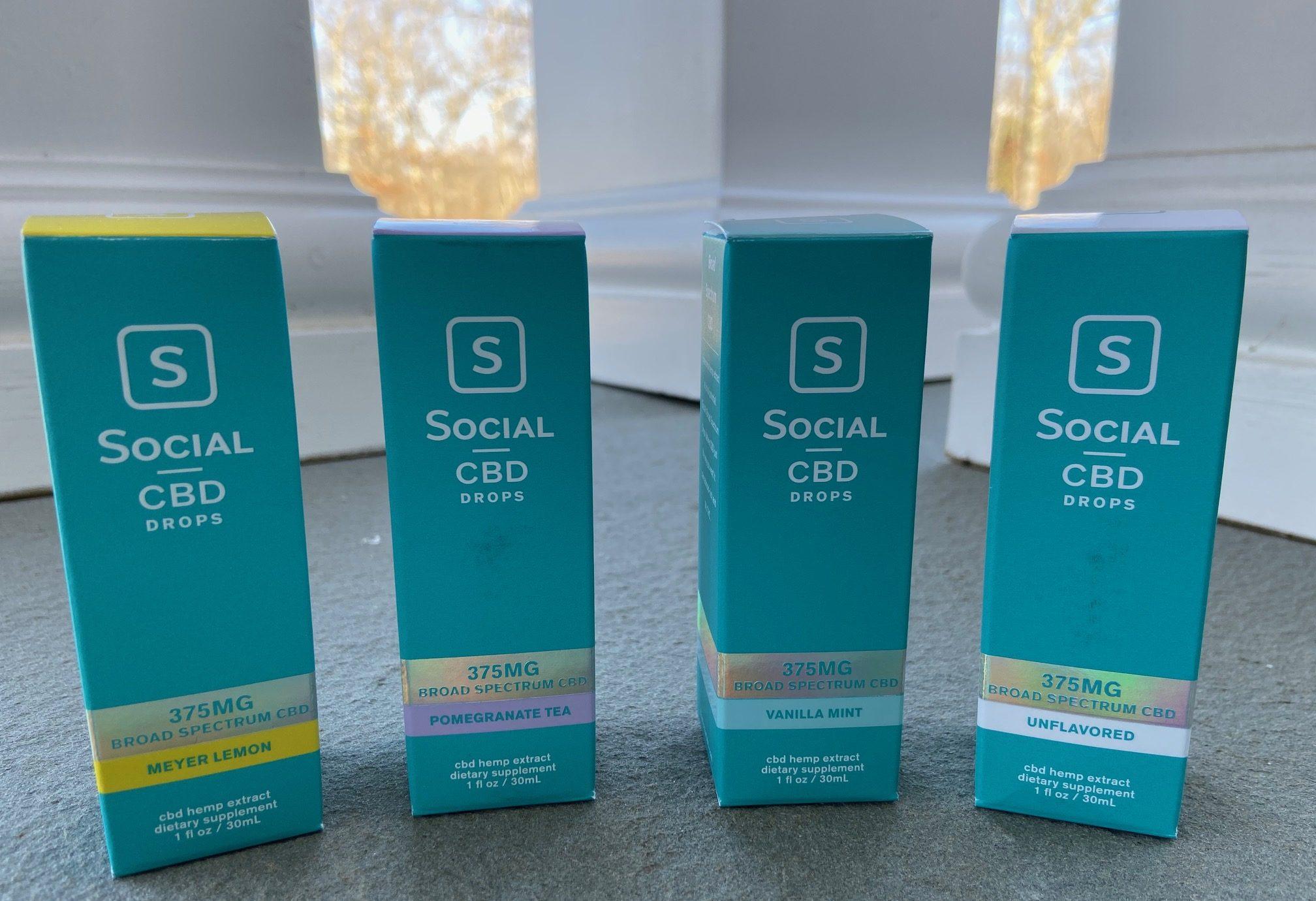 Social CBD Broad Spectrum Drops