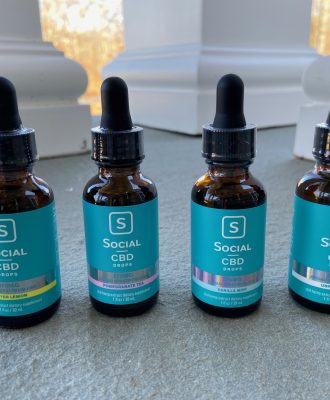 Social CBD Broad Spectrum Drops