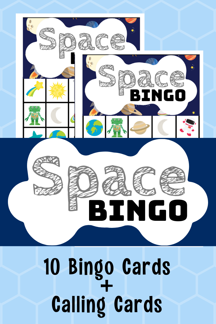 Free Printable Space Bingo Game