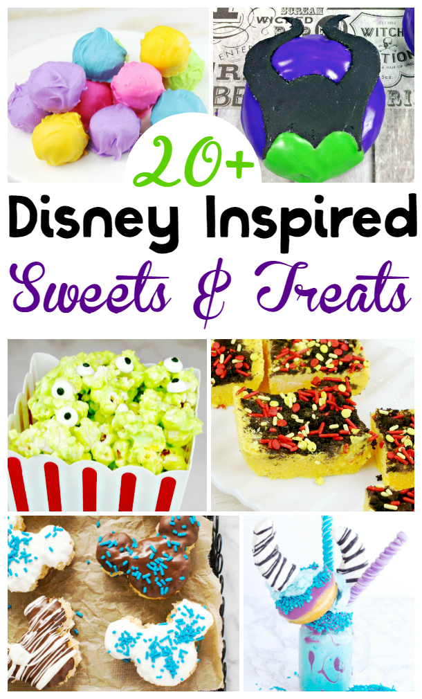 Disney Inspired Treats