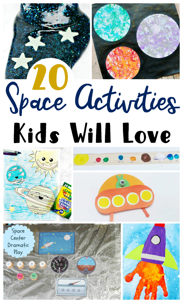 Space Activities Kids will Love