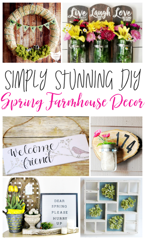 DIY Spring Farmhouse Decor