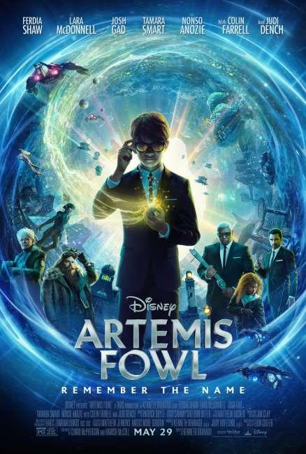 Disney's Artemis Fowl Trailer Reaction