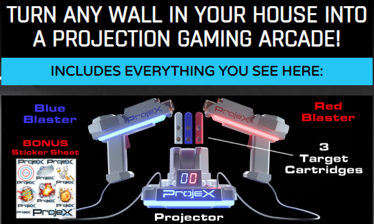 ProjeX Projecting Game Arcade