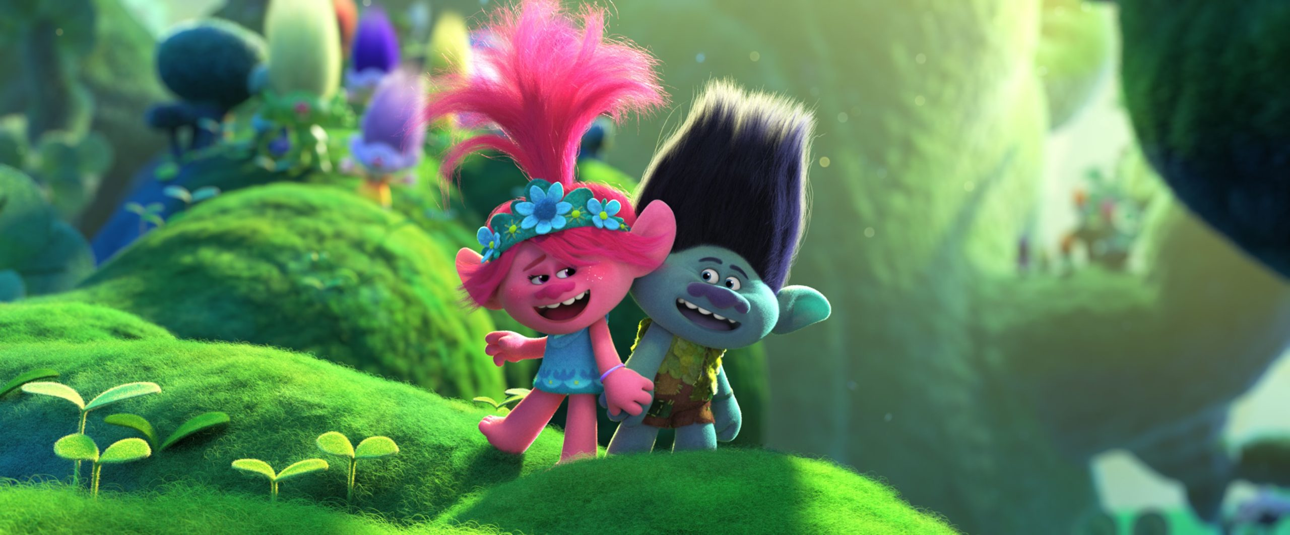 trolls world tour branch and poppy