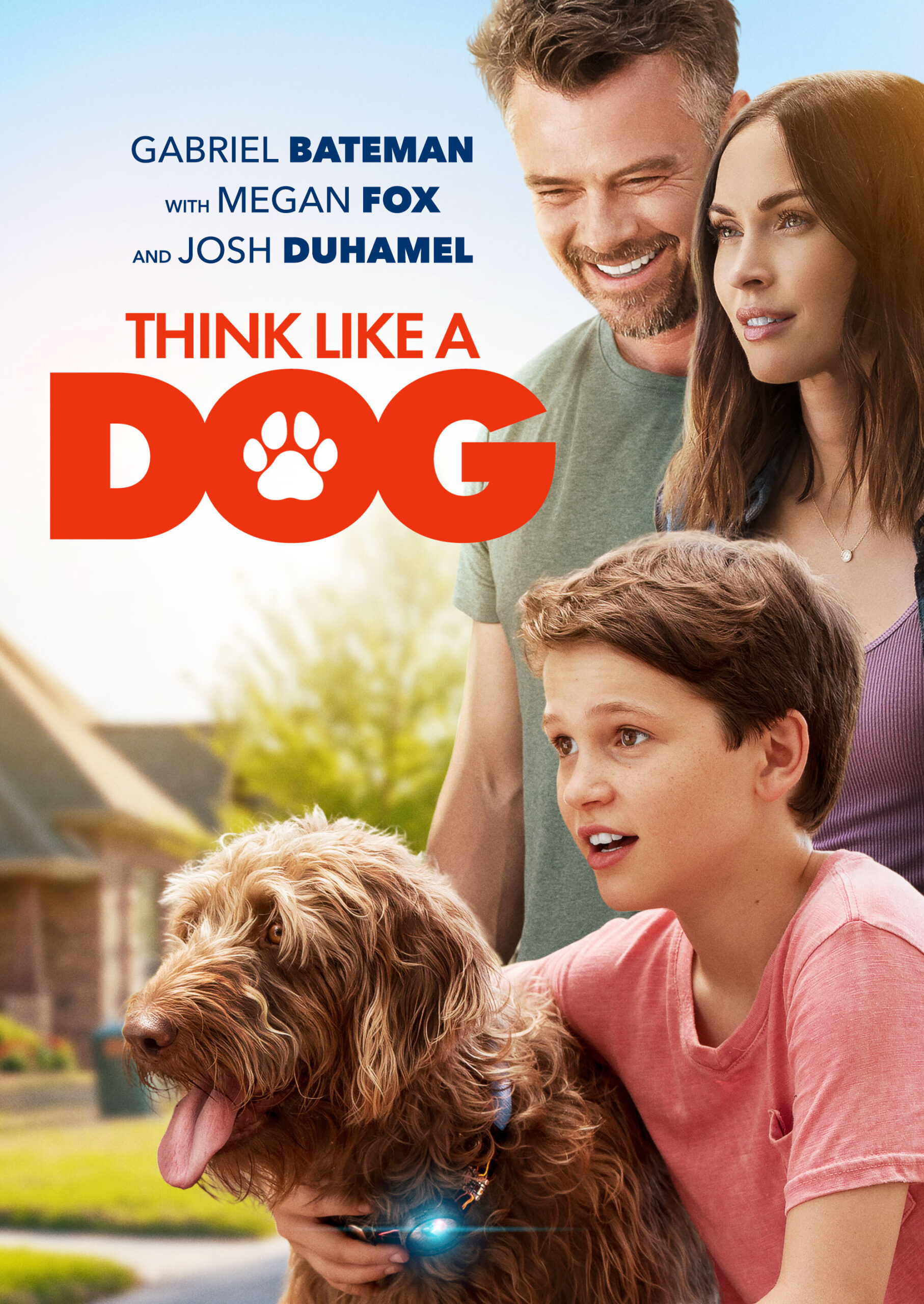 Think Like a Dog Poster, Think Like a Dog Parent Movie Review