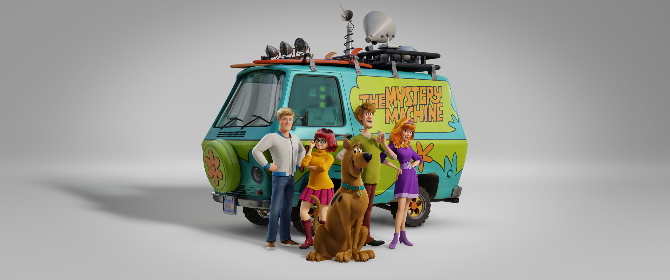 SCOOB Movie with The Mystery Machine