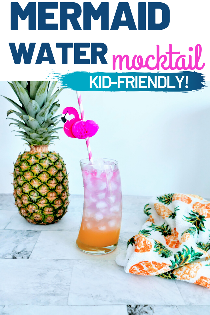Mermaid Water Mocktail Recipe