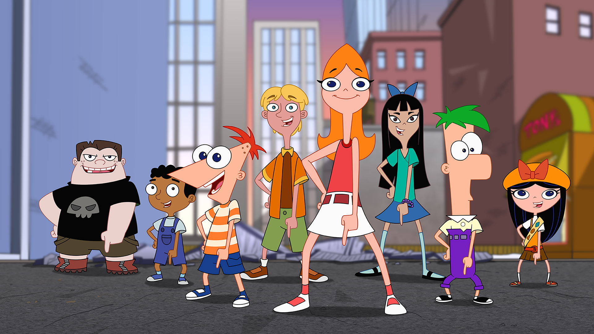 Phineas and Ferb Movie Candace