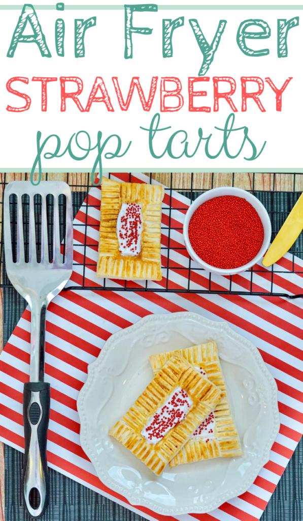Air Fryer Strawberry Pop Tarts