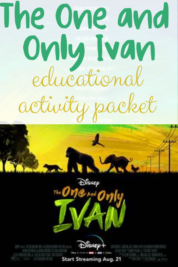 One and Only Ivan activities