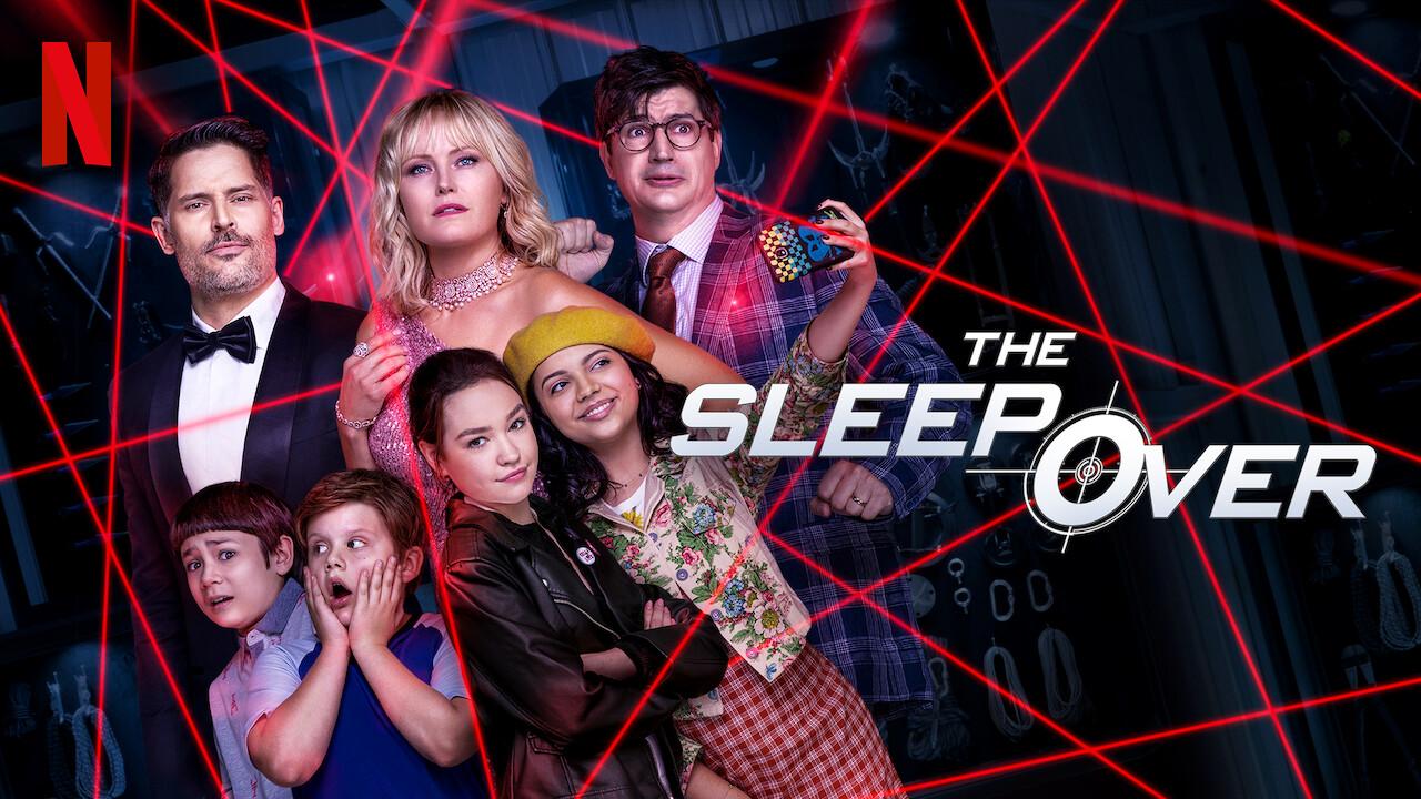 Netflix The Sleepover Poster