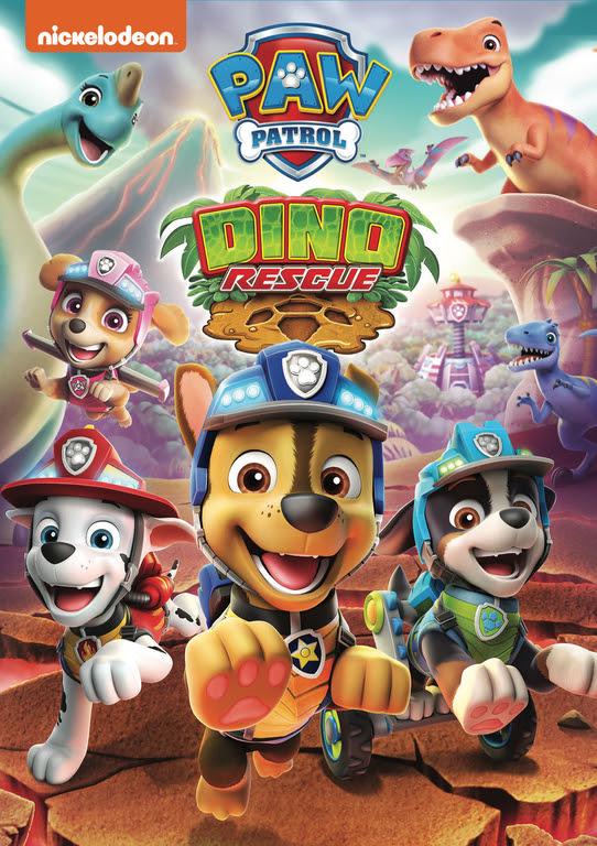 Paw Patrol Dino Rescue DVD