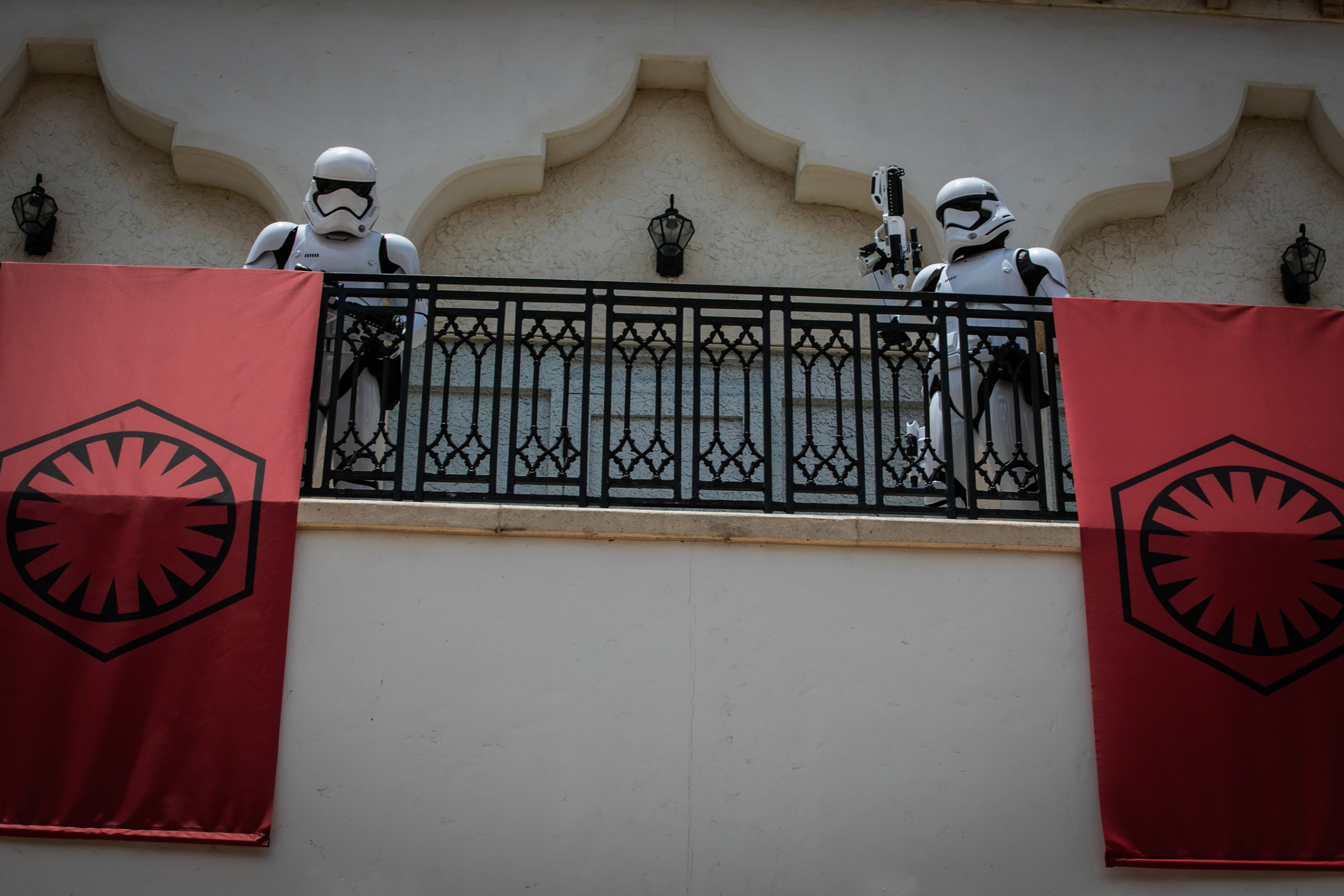 First Order Stormtroopers at Disney Springs