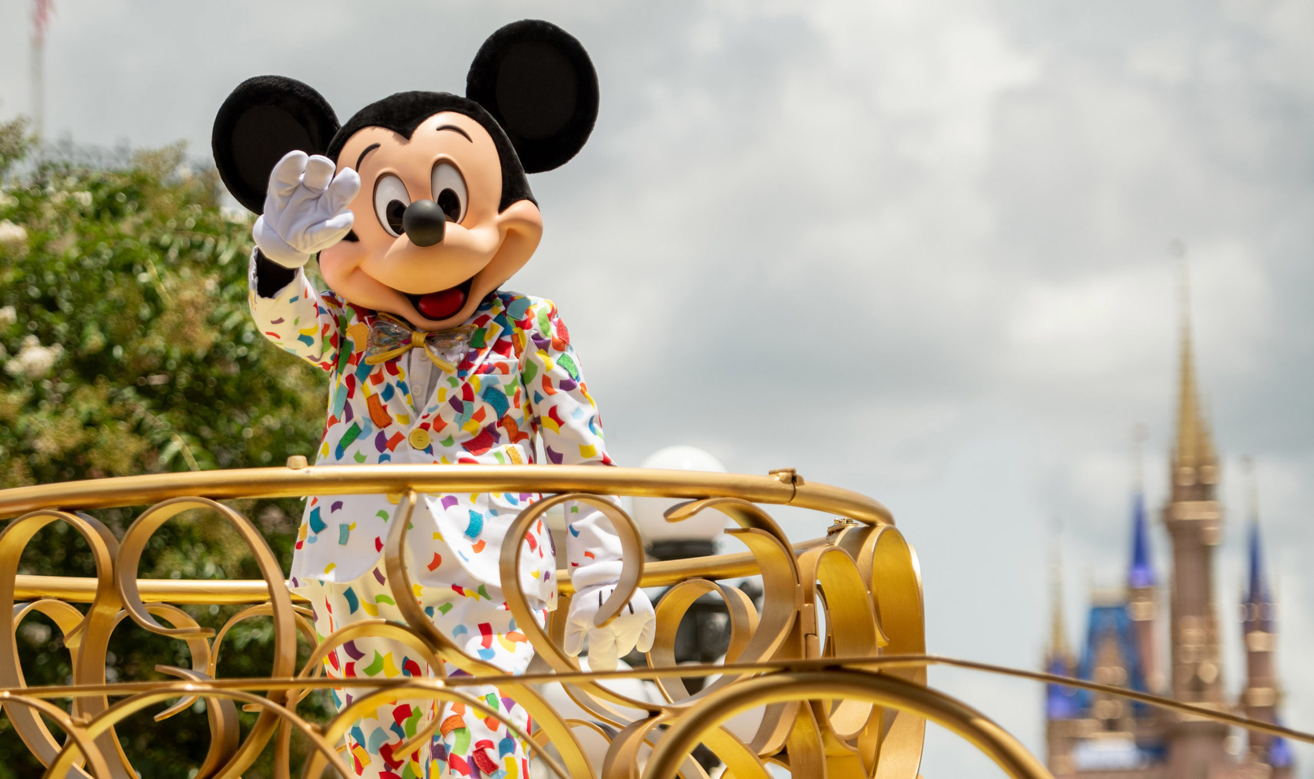 'Mickey and Friends Cavalcade' at Magic Kingdom Park