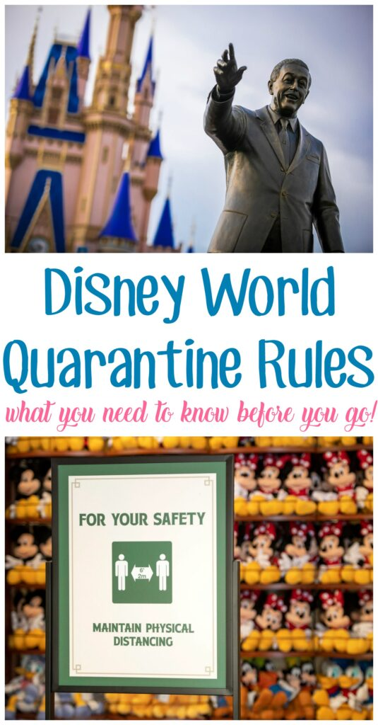 Disney Quarantine Rules
