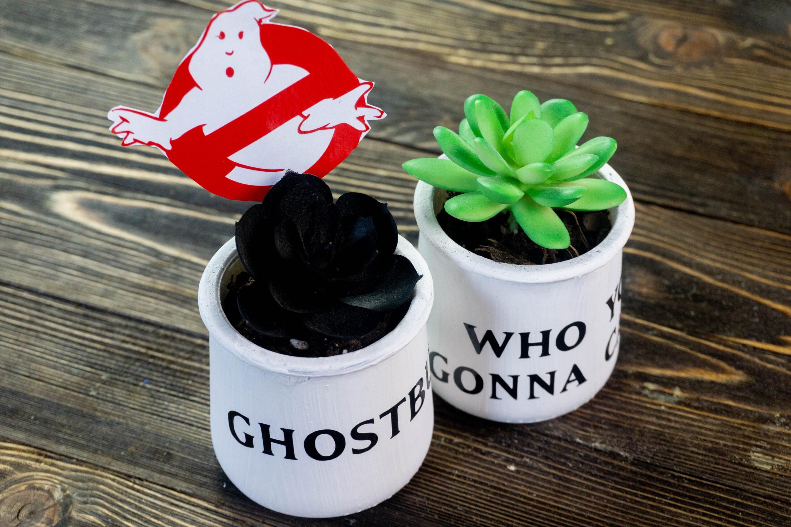 Ghostbusters Cricut Craft