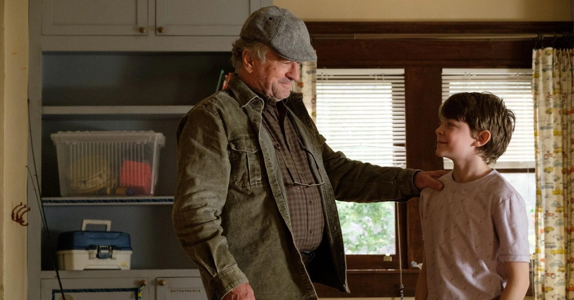 The War With Grandpa Robert De Niro and Oakes Fegley