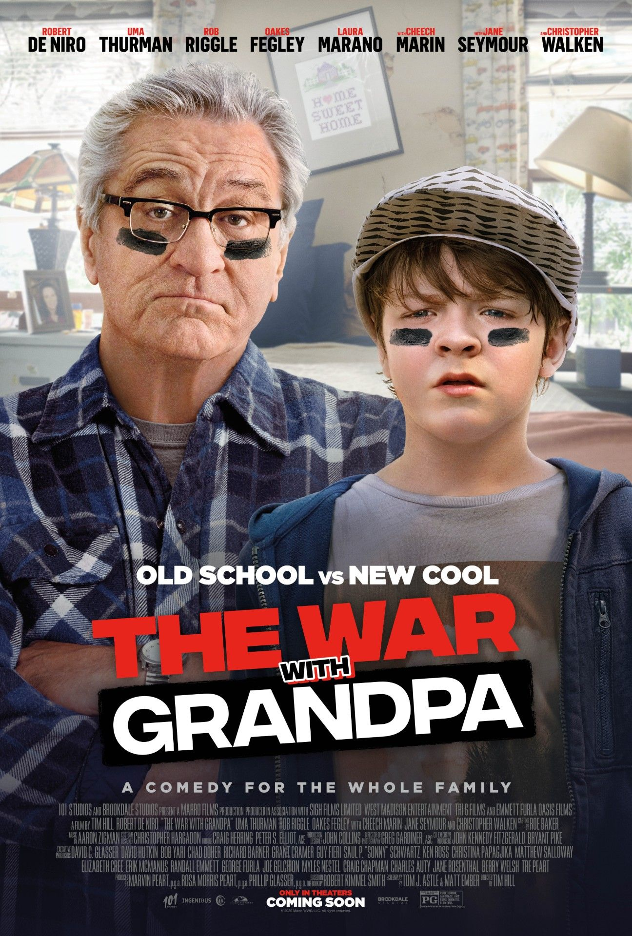The War with Grandpa Parent Movie Review