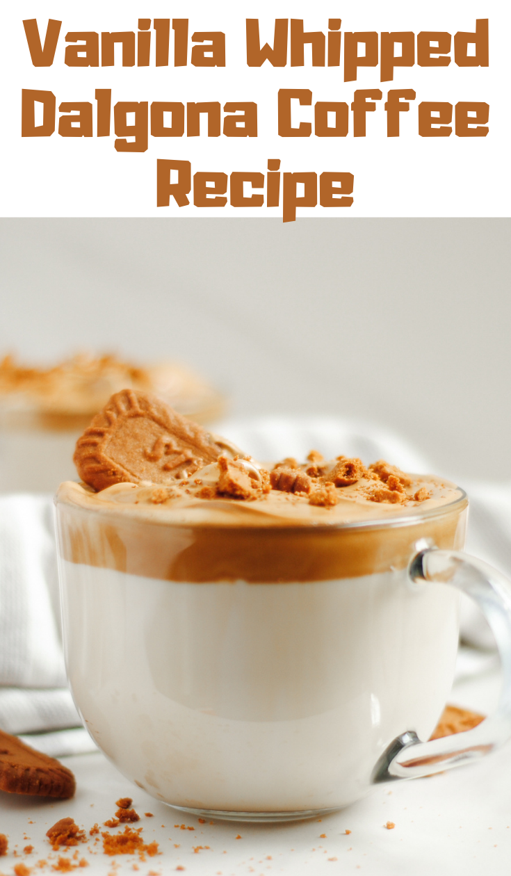 Vanilla Whipped Dalgona Coffee Recipe