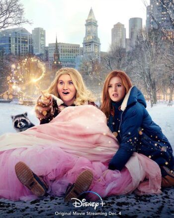 Disney+ Poster with Jillian Bell and Isla Fisher