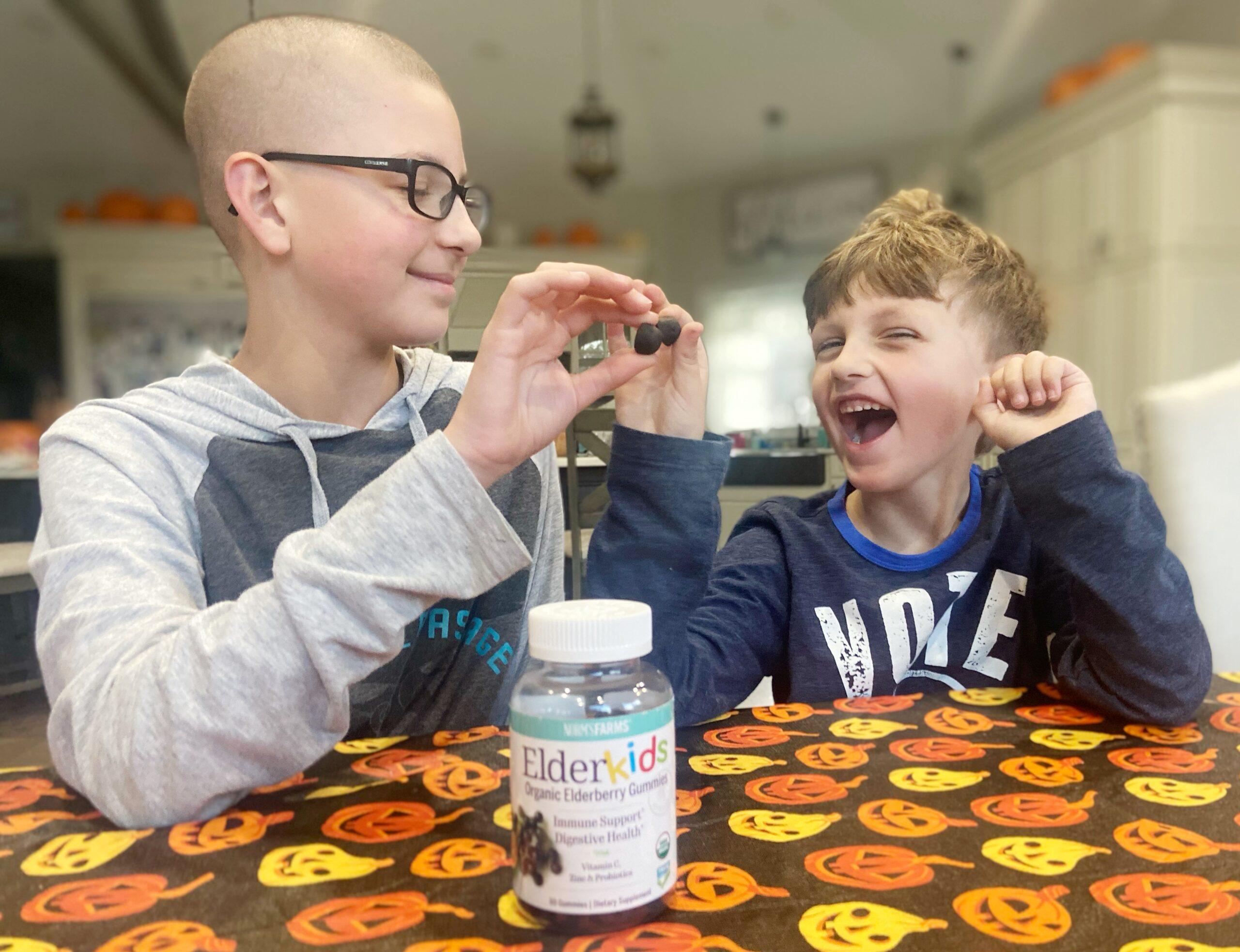 Boost Kids Immune System Elderberry