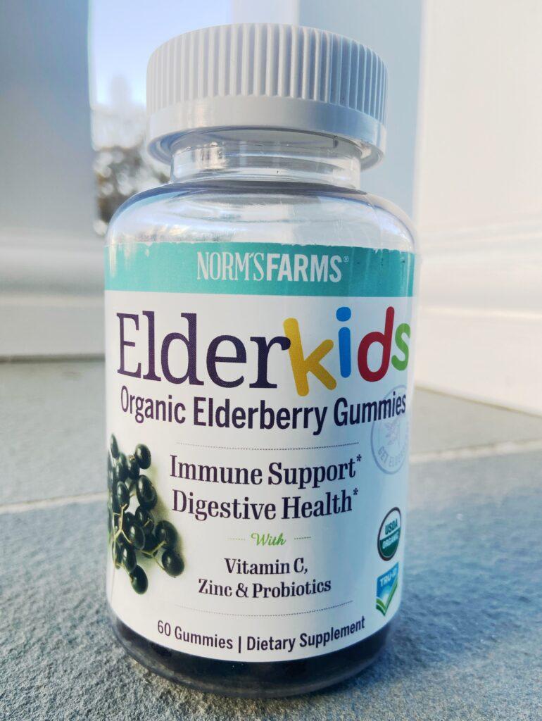 Norm's Farms ElderKids Organic Elderberry Gummies