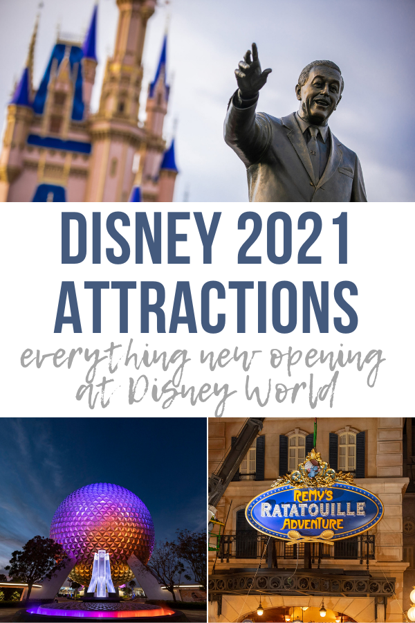 Disney 2021 Attractions