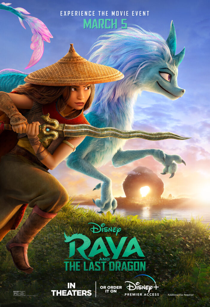 Raya and the last dragon trailer and poster