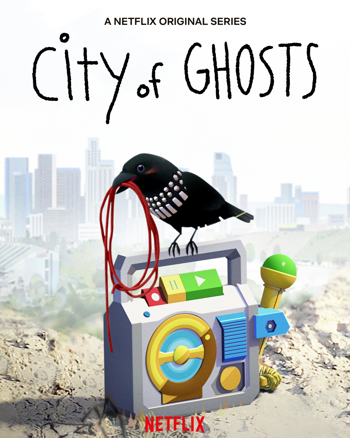City of Ghosts Netflix Poster