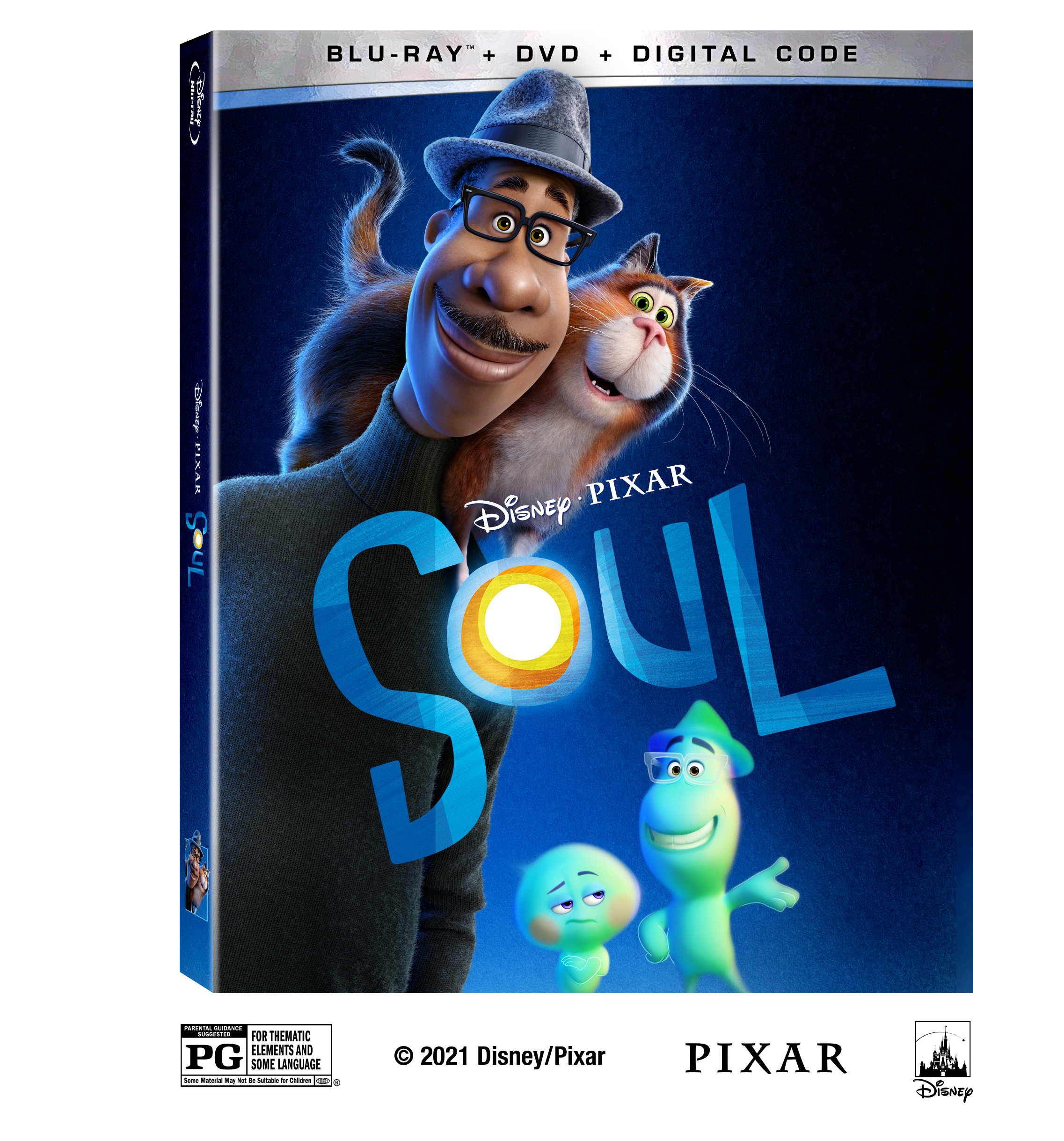 Pixar SOUL Arrives on Blu-ray & Digital