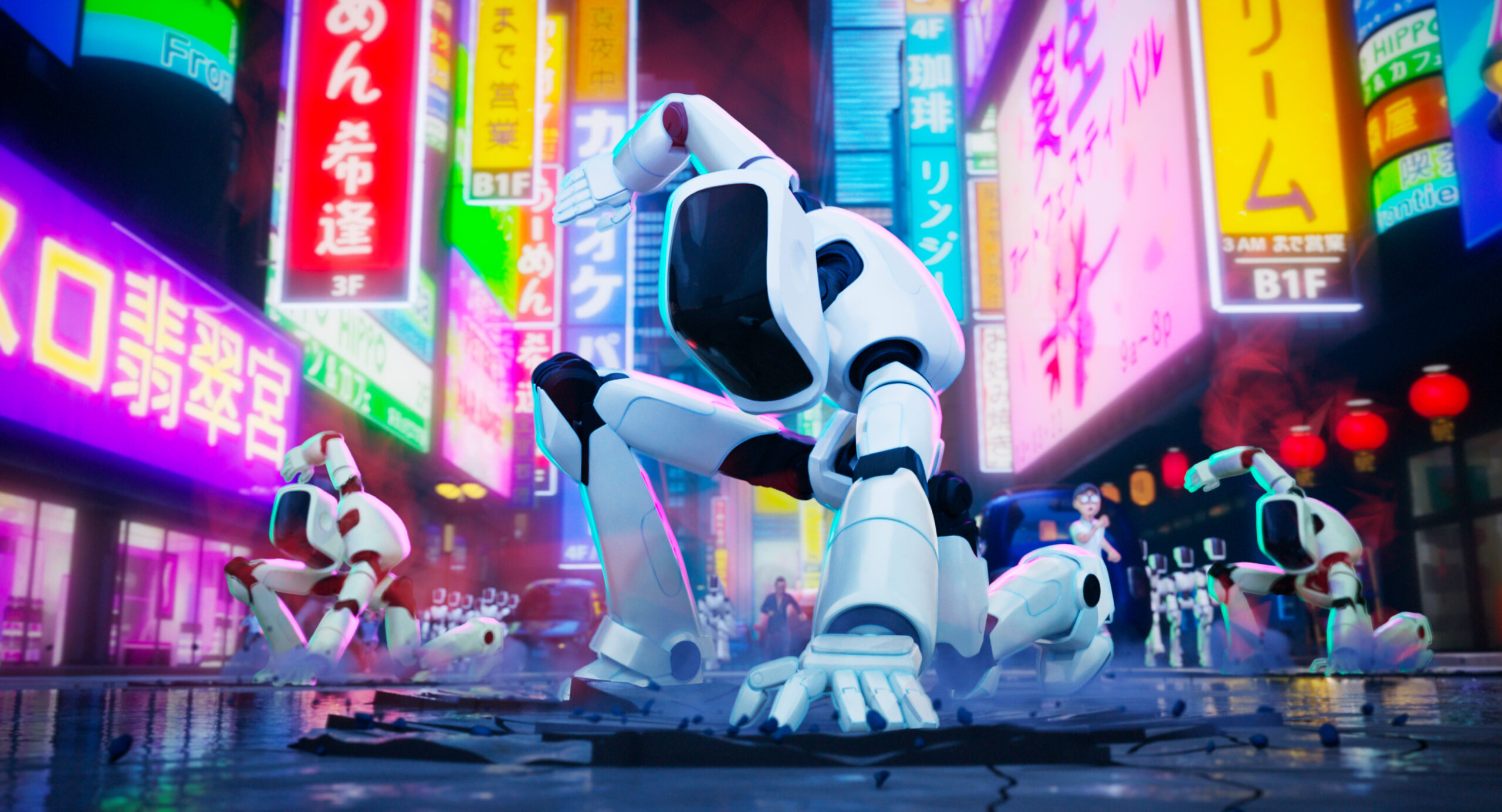 The Mitchells vs The Machines Robots