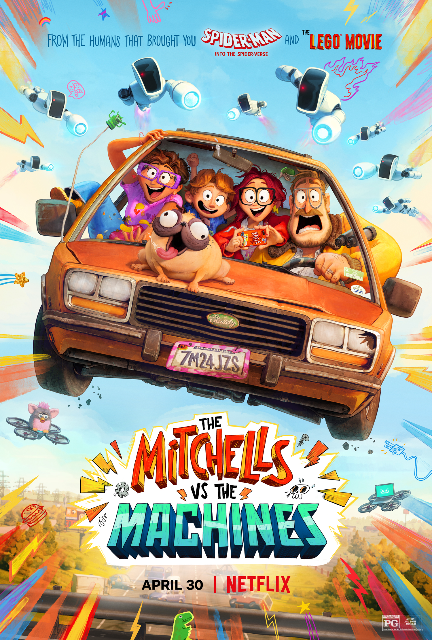 The Mitchells vs The Machines Parents Guide + Movie Review