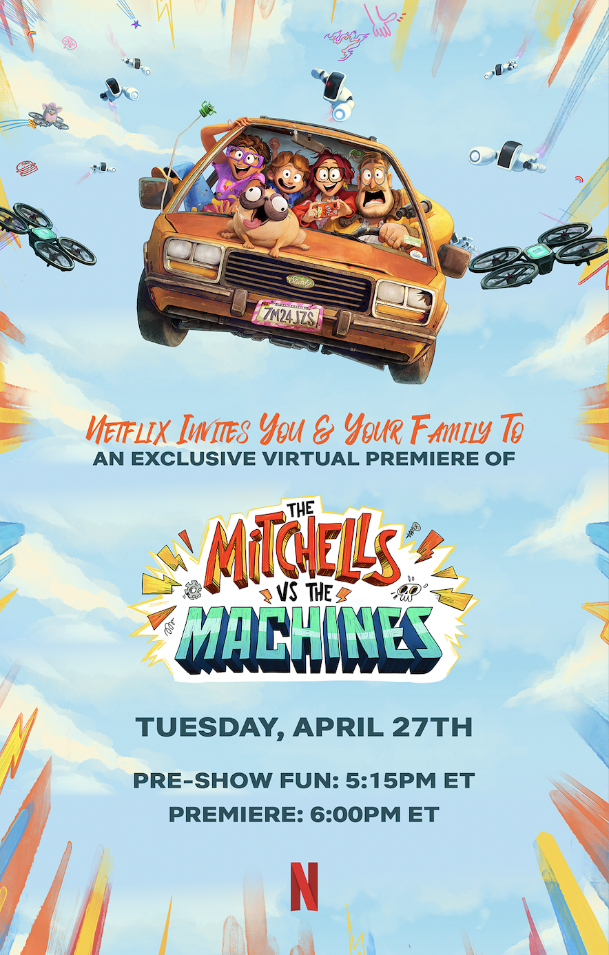 The Mitchells vs The Machines Virtual Screening