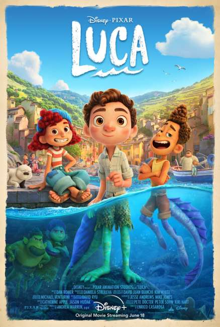 Pixar Luca Official Trailer and Poster