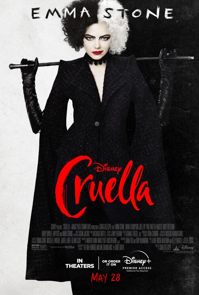 Cruella Parents Guide, Cruella Movie Review, Cruella Poster