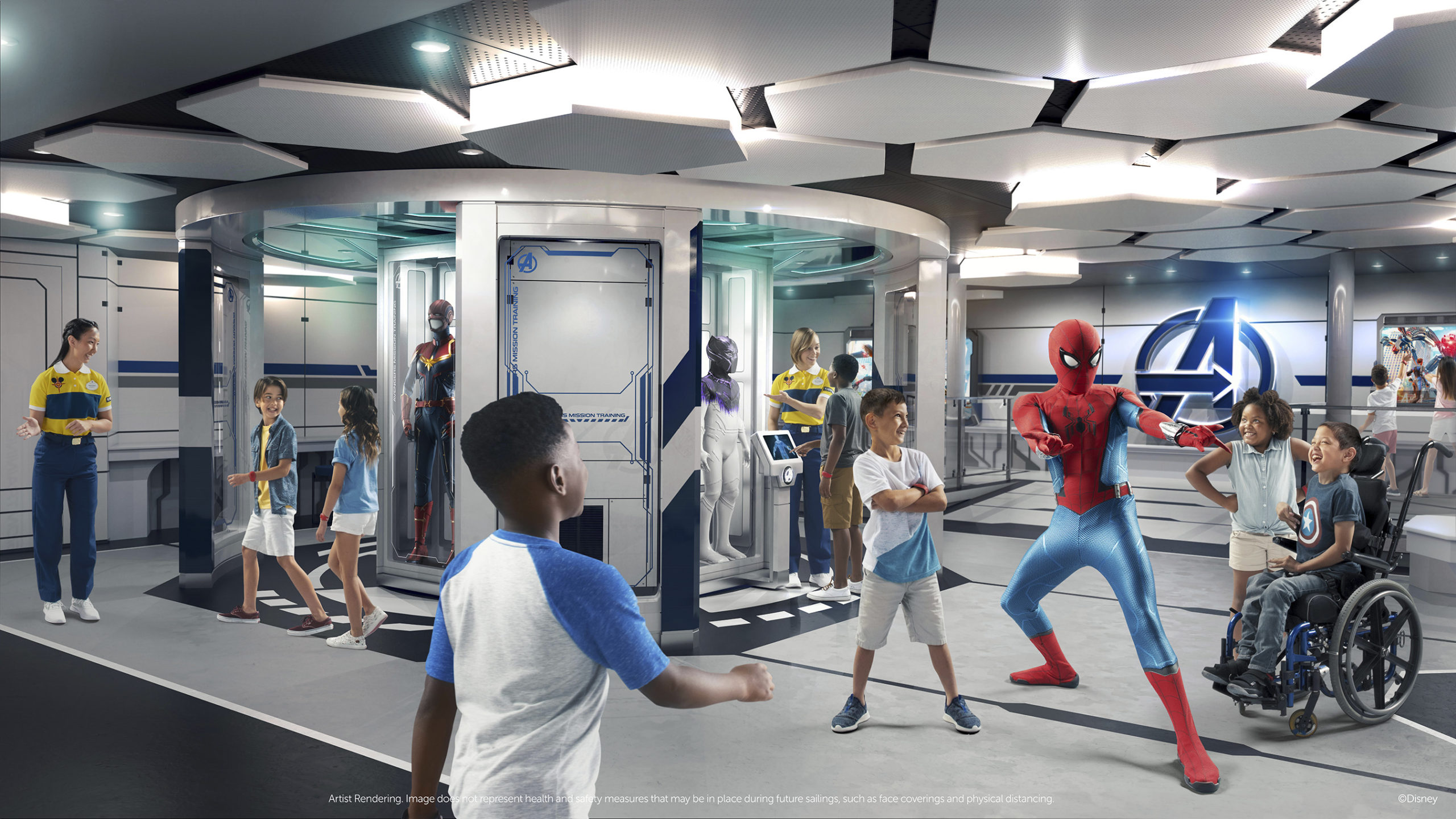 Disney Wish Marvel Super Hero Academy