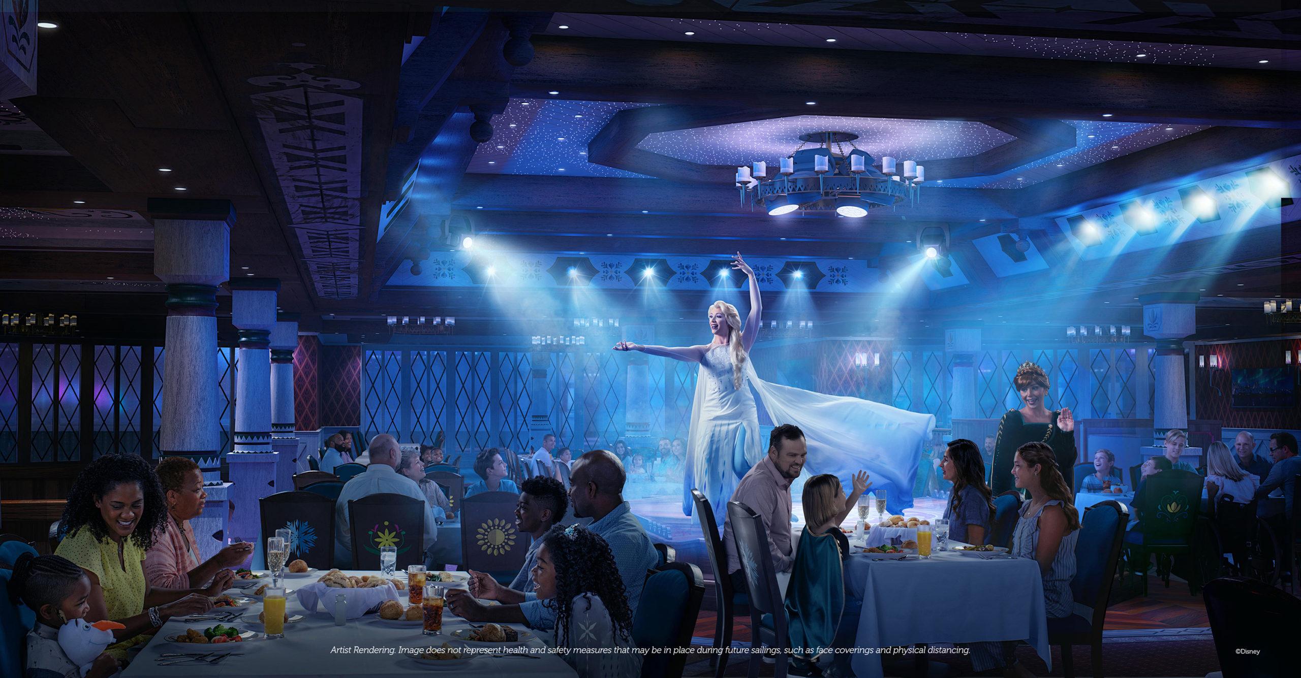 Disney Wish Arendelle A Frozen Dining Adventure