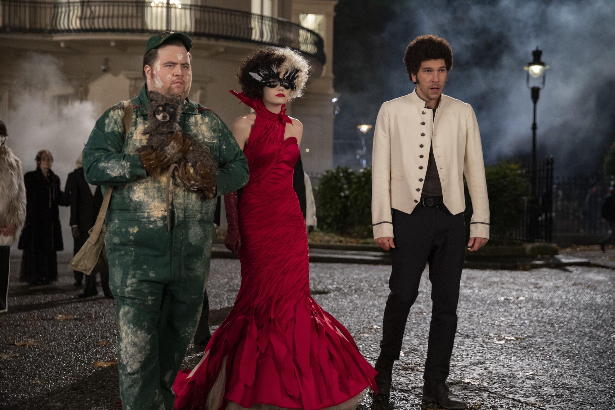 Cruella, Horace, and Jasper